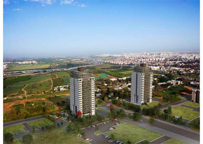מאוד פרויקטים חדשים בבאר יעקב - דירות חדשות בבאר יעקב - הומלס ZA-09