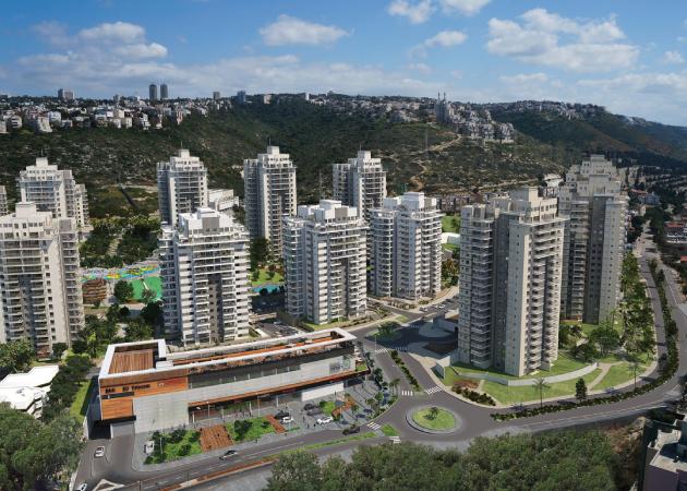 פנטסטי פרויקטים חדשים בחיפה - דירות חדשות בחיפה - הומלס ZD-04